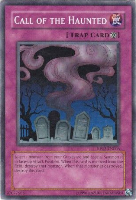 YuGiOh Retro Pack 2 Common Call of the Haunted RP02-EN006