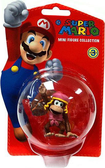 Super Mario Bros Series 3 Dixie Kong 2-Inch Vinyl Mini Figure