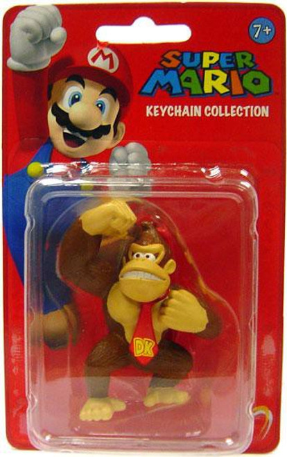 Super Mario Keychain Collection Series 1 Donkey Kong 2-Inch Keychain