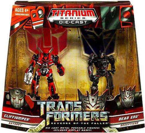 Transformers Revenge of the Fallen TItanium Series Cliffjumper & Dead End Exclusive Diecast Figure 2-Pack