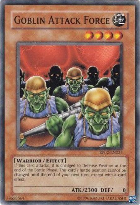 YuGiOh Retro Pack 2 Common Goblin Attack Force RP02-EN024