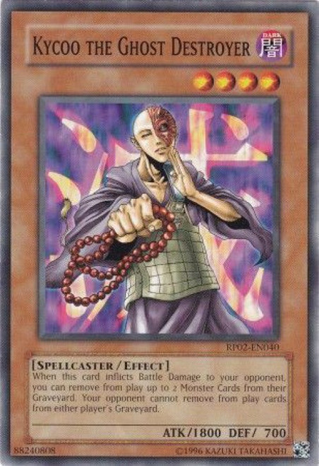 YuGiOh Retro Pack 2 Common Kycoo the Ghost Destroyer RP02-EN040