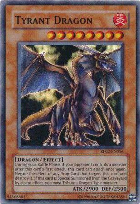 YuGiOh Retro Pack 2 Super Rare Tyrant Dragon RP02-EN056