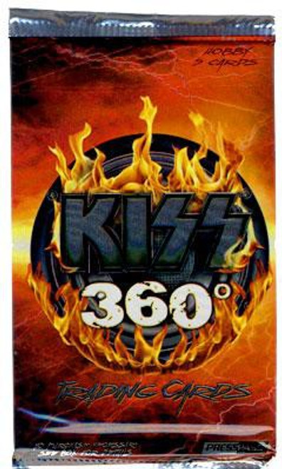 KISS 360 Degrees Trading Card HOBBY Pack [5 Cards]