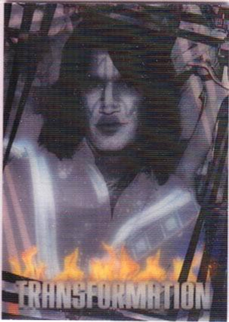 KISS 360 Degrees Transformation Card Tommy Thayer To Spaceman #5/6