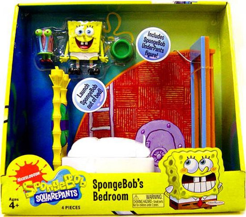 Spongebob Squarepants Spongebob's Bedroom Playset