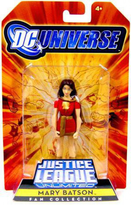 DC Universe Justice League Unlimited Fan Collection Mary Batson Exclusive Action Figure
