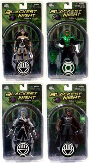 DC Green Lantern Blackest Night Series 4 Set of 4 Action Figures
