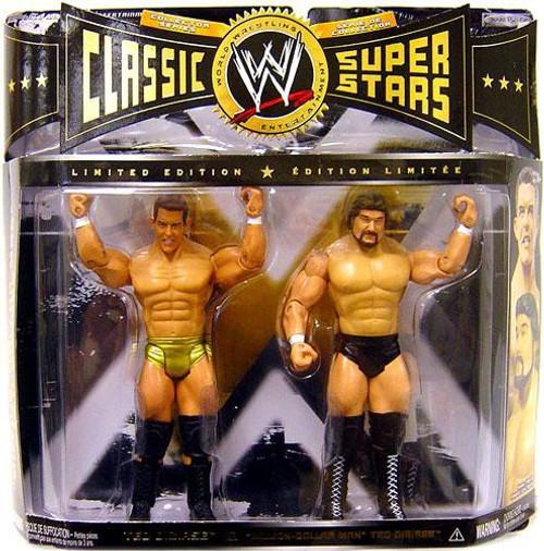 "WWE Wrestling Classic Superstars Ted Dibiase Jr. & ""Million Dollar Man"" Ted Dibiase Action Figure 2-Pack"