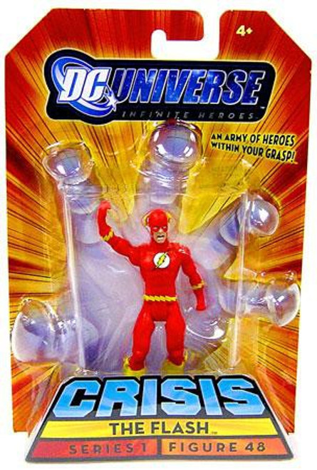 DC Universe Crisis Infinite Heroes Series 1 The Flash Exclusive Action Figure #48