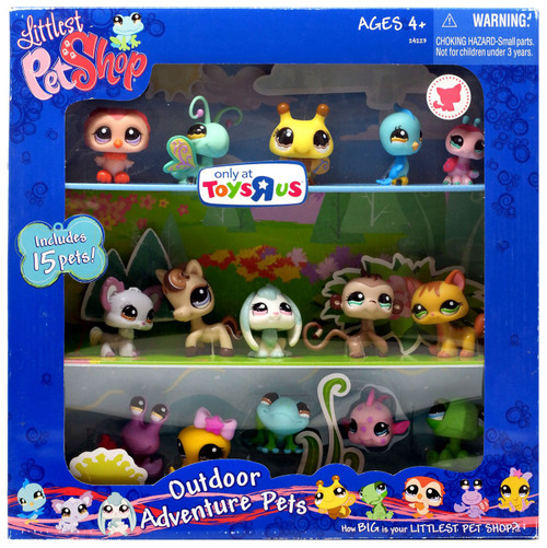 Littlest Pet Shop Outdoor Adventure Pets Exclusive Figure Set #1135 - 1149