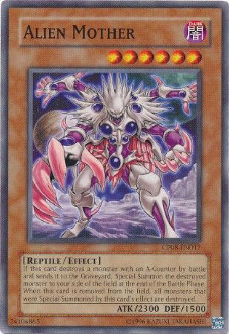 YuGiOh Champion Pack: Game 8 Common Alien Mother CP08-EN017