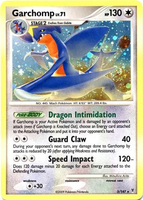 Pokemon Platinum Supreme Victors Rare Holo Garchomp #5