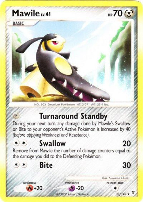 Pokemon Platinum Supreme Victors Rare Mawile #33