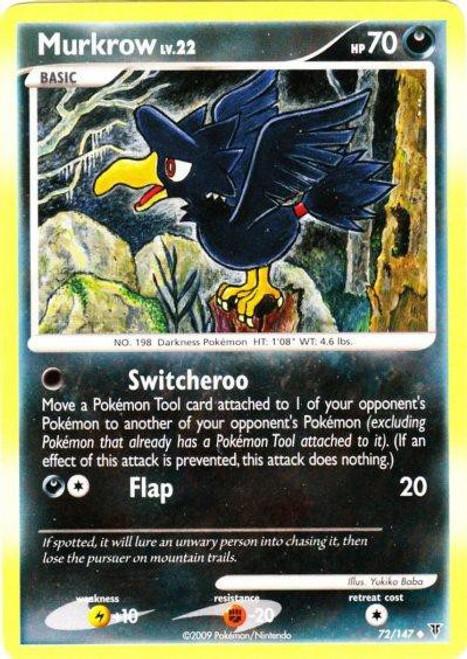 Pokemon Platinum Supreme Victors Uncommon Murkrow #72