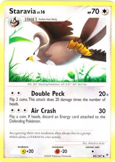 Pokemon Platinum Supreme Victors Uncommon Staravia #85