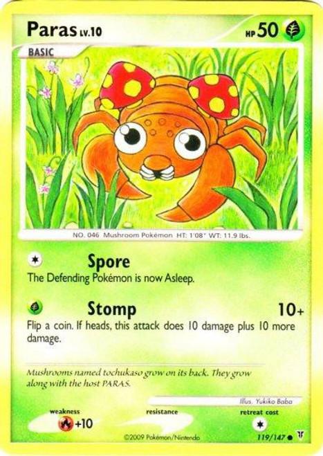 Pokemon Platinum Supreme Victors Common Paras #119