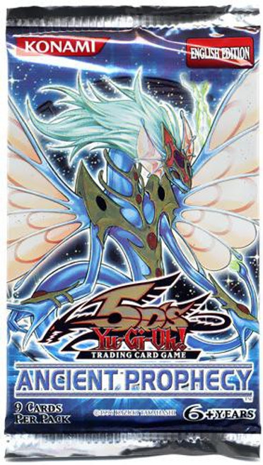 YuGiOh Trading Card Game Ancient Prophecy Booster Pack
