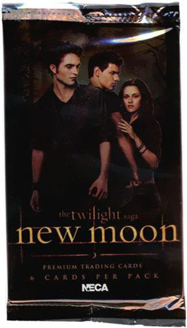NECA Twilight New Moon Trading Card Pack [6 Cards]