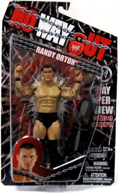 WWE Wrestling Pay Per View Series 21 No Way Out Randy Orton Action Figure