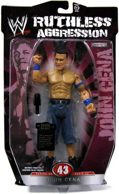 WWE Wrestling Ruthless Aggression Series 43 John Cena Action Figure