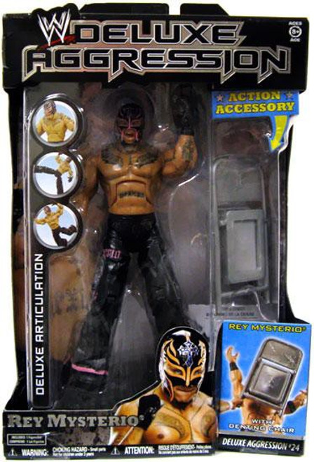 WWE Wrestling Deluxe Aggression Series 24 Rey Mysterio Action Figure