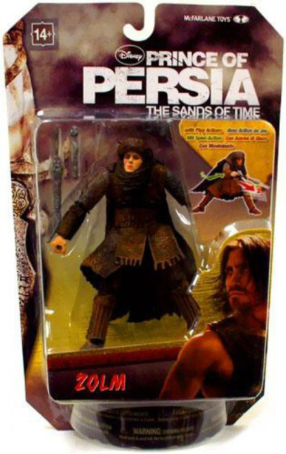 McFarlane Toys Prince of Persia The Sands of Time 6 Inch Zolm Action Figure