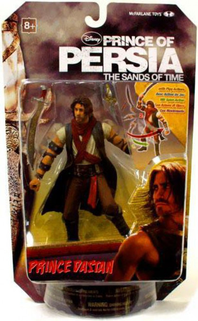 McFarlane Toys Prince of Persia The Sands of Time 6 Inch Prince Dastan Action Figure [Desert]