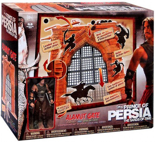McFarlane Toys Prince of Persia The Sands of Time Alamut Gate Action Figure Playset