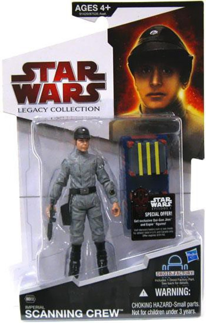 Star Wars A New Hope 2009 Legacy Collection Droid Factory Imperial Scanning Crew Technician Action Figure BD32