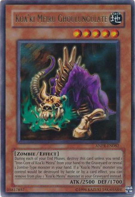 YuGiOh Ancient Prophecy Ultra Rare Koa'ki Meiru Ghoulungulate ANPR-EN082