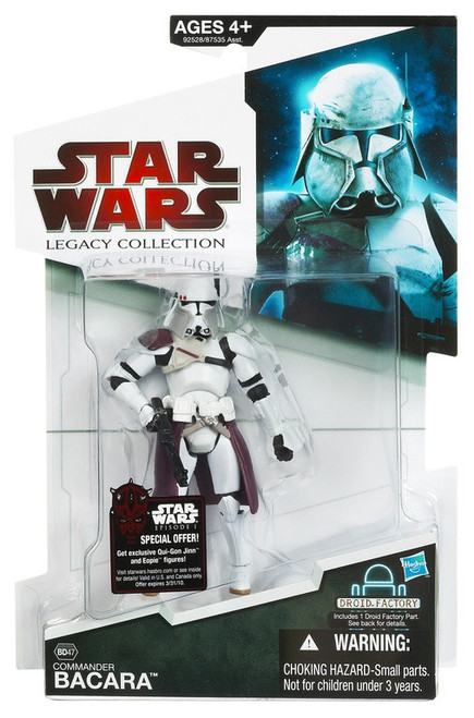 Star Wars Revenge of the Sith 2009 Legacy Collection Droid Factory Commander Bacara Action Figure BD47