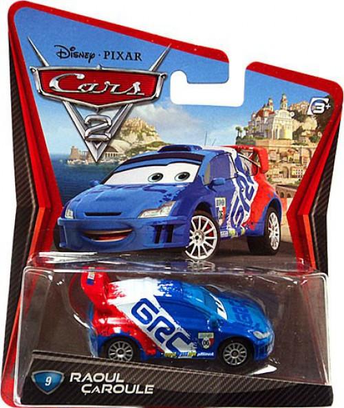 Disney / Pixar Cars Cars 2 Main Series Raoul Caroule Diecast Car
