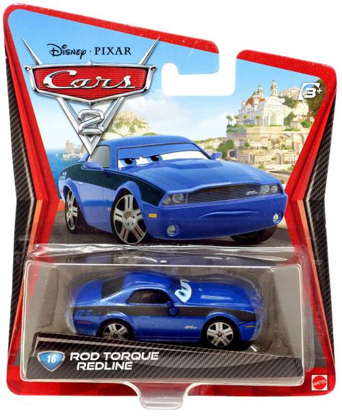 Disney / Pixar Cars Cars 2 Main Series Rod Torque Redline Diecast Car