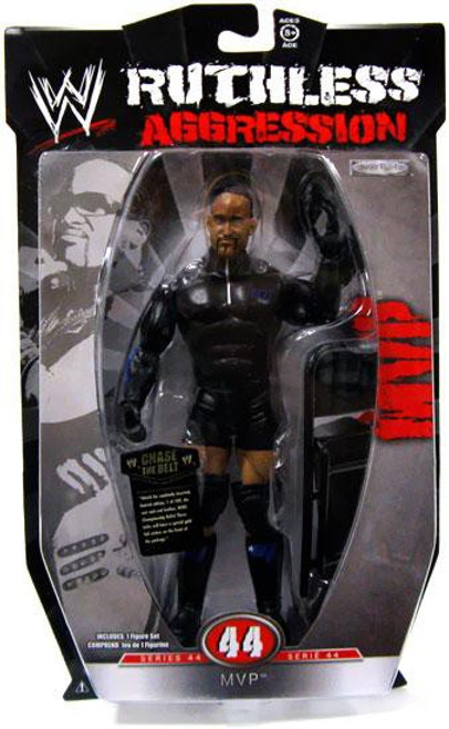 WWE Wrestling Ruthless Aggression Series 44 MVP Action Figure
