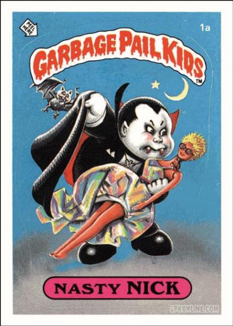 Garbage Pail Kids Original 1980's Series 1 Complete Set
