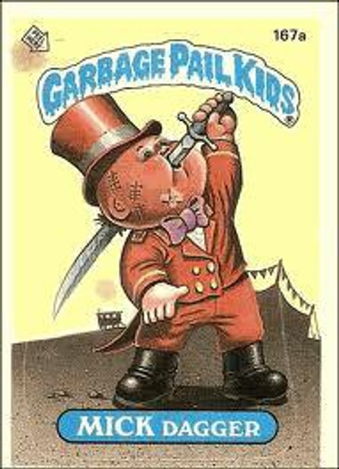 Garbage Pail Kids Topps Original 1980's Series 5 Trading Card Complete Set