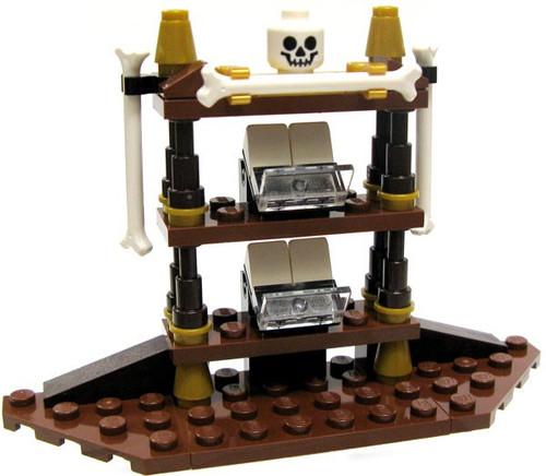 LEGO Pirates of the Caribbean Gothic Shelf with Bones & Skull [Loose]