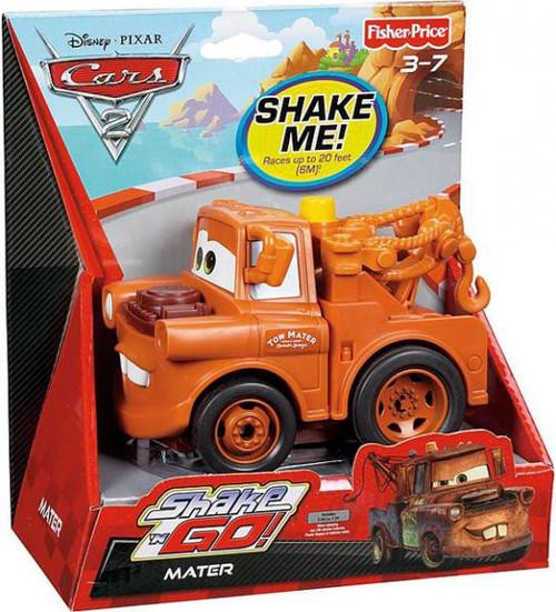 Fisher Price Disney / Pixar Cars Cars 2 Shake 'N Go Mater Shake 'N Go Car