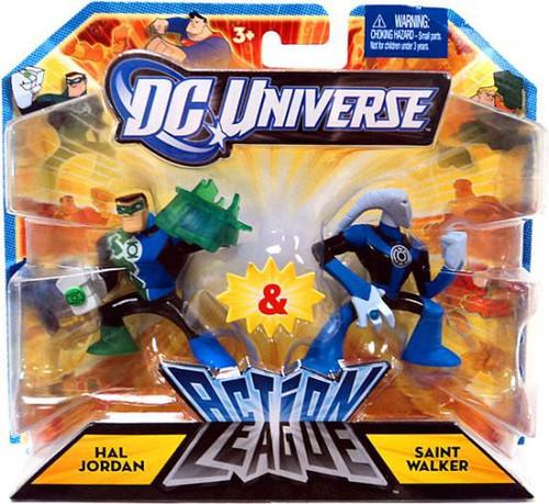 DC Universe Action League Hal Jordan & Saint Walker 3-Inch Mini Figures