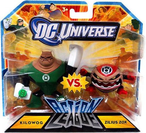 DC Universe Action League Kilowog Vs. Zilius Zox 3-Inch mini Figures