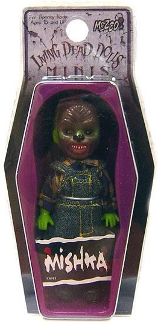 Living Dead Dolls Mishka Mini Doll