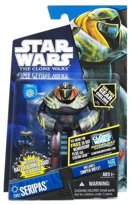 Star Wars The Clone Wars 2011 Seripas Action Figure CW61