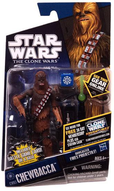 Star Wars The Clone Wars 2011 Chewbacca Action Figure CW63 [Kashyyyk Warrior]