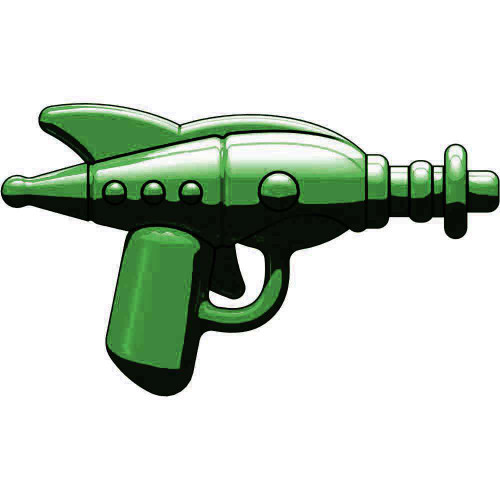 BrickArms Retro Ray Gun 2.5-Inch [Dark Olive Green]