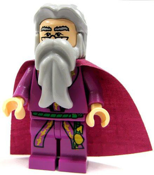 LEGO Harry Potter Albus Dumbledore with Purple Cape Minifigure #1 [Light Purple Cape Loose]