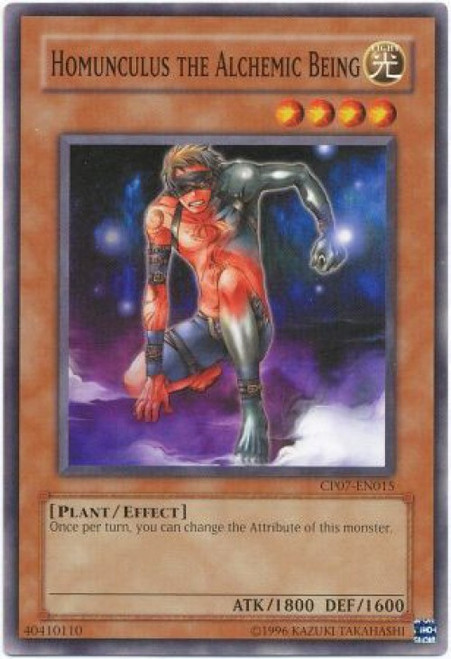 YuGiOh Champion Pack: Game 7 Common Homunculus the Alchemic Being CP07-EN015