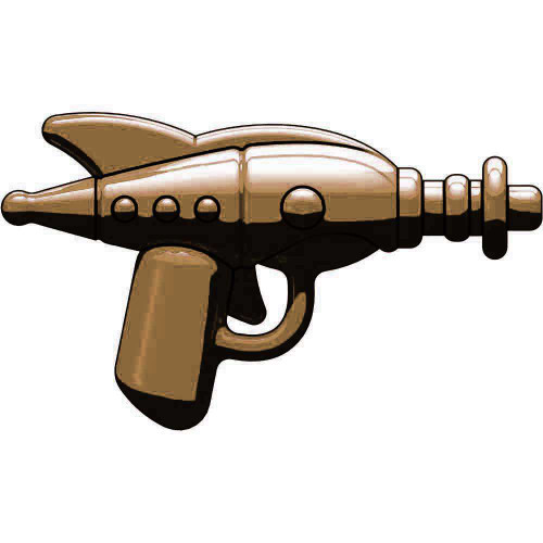 BrickArms Retro Ray Gun 2.5-Inch [Bronze]