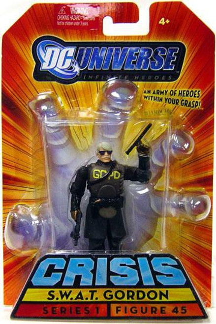 DC Universe Crisis Infinite Heroes Series 1 S.W.A.T. Gordon Action Figure #45