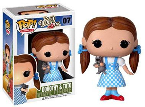 Funko The Wizard of Oz POP! Movies Dorothy & Toto Vinyl Figure #07